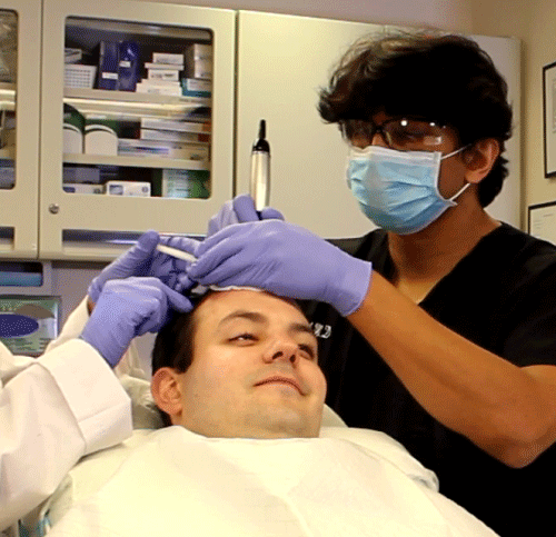 IV Sedation During Hair Transplant
